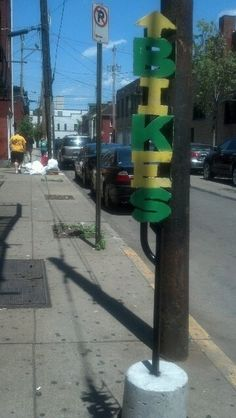 The Thick Bikes sign in the Southside, courtesy of @PixieDust612