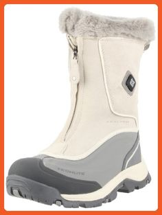 Columbia Sportswear Women's Bugaboot Plus Zip Electric Cold Weather Boot,Turtle Dove/Metallic Silver,8 M US - Outdoor shoes for women (*Amazon Partner-Link)