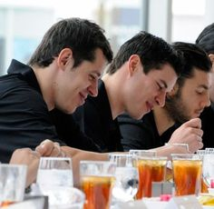 Malkin, Crosby, Letang....Geno and Sid look like twins!