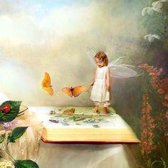 Fairy painting.