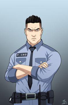 Officer Phil Cho by phil-cho.deviantart.com on @DeviantArt