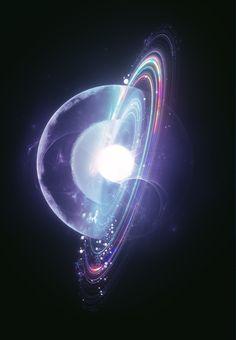 beeple (mike winkelmann) on Behance Arte Sci Fi, Sci Fi Art, Wallpaper Space, Galaxy Wallpaper, Artistic Wallpaper, Art Galaxie, Optical Flares, Fractal Design, 3d Drawings