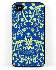 The French Blue iPhone Case (for iPhone 4/4S or iPhone 5/5S) by Decorative Design Works for JewelMint Collective via JewelMint.com