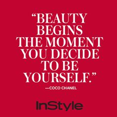 It's Coco Chanel's Birthday! 9 Memorable Quotes by the Chic Style Icon from InStyle.com