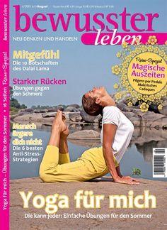 Yoga für mich - Die kann jeder: Einfache Übungen für den Sommer. Gefunden in: bewusster leben - epaper als Download kaufen, Nr. 4/2015