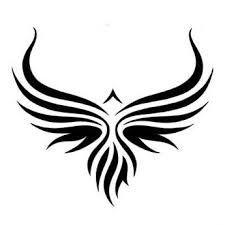 Afbeeldingsresultaat voor tribal tattoo eagle