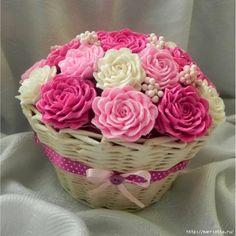 цветы из гофрированной бумаги (16) (600x600, 191Kb)