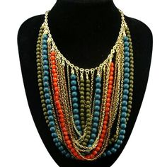 Fashion 16 Style Gold Plated Crystal Rhinestone Bib Chunky Statement Necklaces | eBay