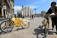 With its serious pollution problem and notorious driving styles, Milan is hardly renowned as a cycle-friendly city – but a radical new scheme aims to change that Sustainable Transport, Commuter Bike, Milan Italy, The Guardian, Sustainability, Cycling, Public, Europe, City