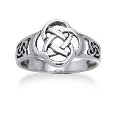 Celtic Sterling Silver Ring