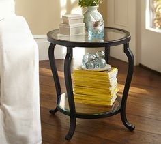 Louisa Side Table #potterybarn