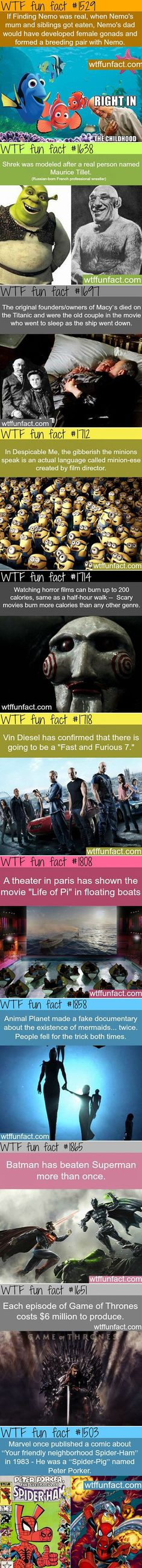 36 Fun and Random Movie Facts That Might Surprise You - TechEBlog