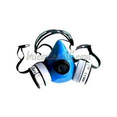 Semimaschera in gomma con attacco per due Filtri art.7210   Realizzata in gomma 100% conferisce particolare comfort così da permettere anche un uso prolungato, è resistente a solventi e acidi che spesso sono presenti negli ambienti industriali.