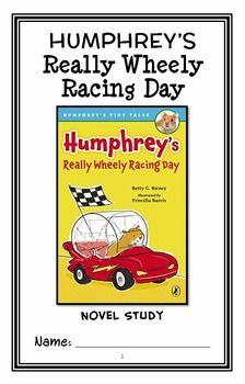Humphrey's Really Wheely Racing Day (Betty G. Birney) Novel Study * Follows Common Core Standards *  This 20-page booklet-style Novel Study is designed to follow students throughout the entire book.  The questions are based on reading comprehension, strategies and skills. The novel study is designed to be enjoyable and keep the students engaged.