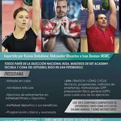 Certificación Internacional en Kettlebell. Los mejores del Mundo en Costa Rica #CRKB by crkb_jon