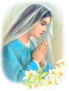 I love the Blessed Mother! As a Catholic, I'm so blessed to be a member of the Church that truly honors and respects the Mother of my Lord and Savior. I must adm… Pape Jean Paul 2, Sainte Rita, Immaculée Conception, Queen Of Heaven, Religious Pictures, Hail Mary, Blessed Virgin Mary, Blessed Mother, Mother Mary