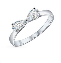 Серебряное кольцо купить . Смотреть фото и описание 42473 - Sunlight Brilliant