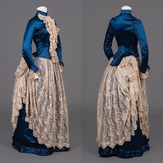 1800s Clothing, Antique Clothing, Historical Clothing, Victorian Fashion, Vintage Fashion, 1890s Fashion, Victorian Ladies, Retro Outfits, Vintage Outfits