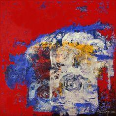 Pintura de Paulo Moluap 50x50 cm  MST