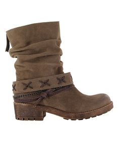 Love this Taupe Angus Suede Boot on #zulily! #zulilyfinds