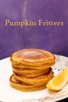 Pumpkin Fritters and South African Style Cooked Pumpkin - Jade Williams - Pumpkin Fritters and South African Style Cooked Pumpkin Pumpkin Fritters and South African Style Cooked Pumpkin « Leave Room for Dessert - South African Desserts, South African Dishes, South African Recipes, Africa Recipes, Pumpkin Tarts, Pumpkin Pumpkin, Yummy Snacks, Yummy Food, Pumpkin Fritters