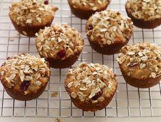 Cranberry Orange Oat Muffin Recipe