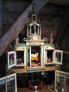 Old dollhouse at the Westfries Museum.