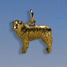 Anhänger Australian Shepherd Breite 27 mm / Höhe 22 mm Silbergewicht: 17,5 g