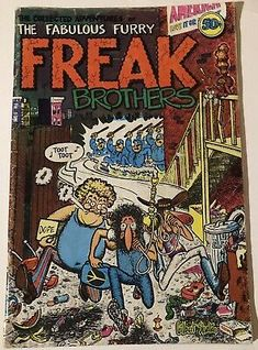 FABULOUS FURRY FREAK BROTHERS 1971 #1 Rip Off Underground GILBERT SHELTON | eBay Gilbert Shelton, Comic Books For Sale, Spiderman, Batman, Toot, Teen Titans, Brother, Adventure, Comics