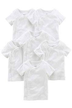 Simple Joys by Carters B/éb/é fille 7-pack Long-sleeve Bodysuit