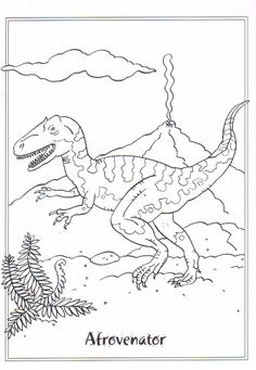 coloring page Dinosaurs on Kids-n-Fun. Coloring pages of Dinosaurs on Kids-n-Fun. More than coloring pages. At Kids-n-Fun you will always find the nicest coloring pages first! Dinosaur Coloring Pages, Cool Coloring Pages, Cartoon Coloring Pages, Animal Coloring Pages, Printable Coloring Pages, Boy Coloring, Adult Coloring, Coloring Books, Dinosaur Printables