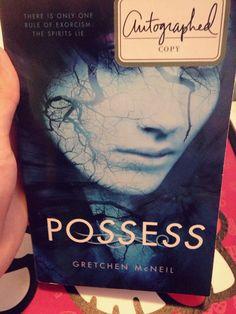 #Possess #EvilBookSticker I hate stickers on books