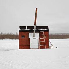 AFreeze Frames of Canada's Ice Huts. Richard Johnson
