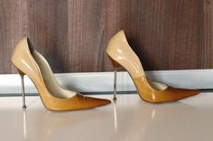 Óculos de Sol · Balestrieri Made in Italy steel stiletto high heels shoes  pointy pumps 37 7   eBay   748f0faadb