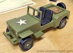 Image result for pinewood derby army jeep