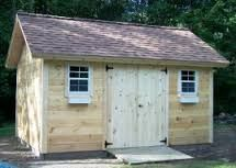 Custom Gable Shed Plans, 12 x 12 Shed, Detailed Building Plans