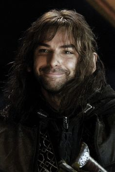Re; Kili Dear Aiden Turner,  You are incredibly adorable. Fuck you for making me think a dwarf is sexy. Luckily, there is a position open in my imaginary boyfriend roster formerly filled by Jason Momoa. You have the best eyebrows on any human who is not too buff to be allowed. All the best! Sincerely, Kymm