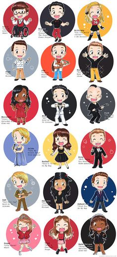 glee fanart sebastein and kurt | glee chibi # fanart # glee season 3 # glee cast