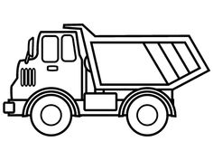 Free and printable truck coloring pages have been prepared for your children who like big vehicles! These color pages are designed in high definition and printable sizes that allow you to print them in a larger size. Fish Coloring Page, Coloring Pages For Boys, Coloring Book Pages, Templates Printable Free, Free Printable Coloring Pages, Printables, Construction Theme Preschool, Monster Truck Coloring Pages, Pokemon Coloring