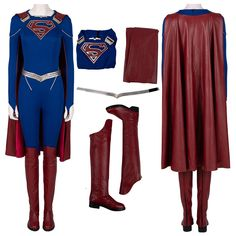 Woven Fabric, Cotton Fabric, Supergirl Season, Superman Costumes, Cosplay Costumes For Sale, Suit Prices, Printed Jumpsuit, Artificial Leather, Print Pictures