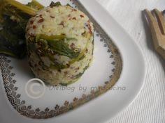 Bulgur e Quinoa con cime di rapa ricetta vegan by miracucina