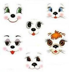 45 ideas for painting rocks diy eyes Clay Pot Crafts, Diy And Crafts, Arts And Crafts, Flower Pot People, Cartoon Eyes, Snowman Faces, Eye Painting, Clay Pots, Doll Face