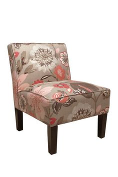 Gorgeous Blossom Armless Chair by Gold Coast Furniture Collection on @HauteLook