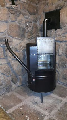 Gravity feed wood pellet stove and pizza oven & CHP+Wood+Pellet+Rocket+Stove+Furnace+Heater+RV+Boat+Yurt+Trailer+ ...