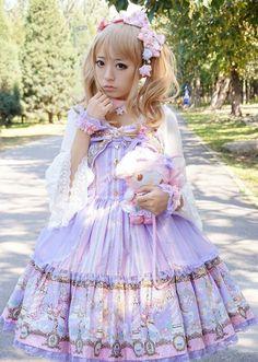 Angelic Pretty Day Dream Carnival Lolita Jumper Dress ♥.♥ my dream dress