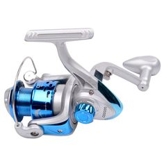 5 BB Ball Bearings Spinning Fishing Reels Freshwater Saltwater with 5:2:1 Gear Ratio Collapsible Handle DYT09-P4548