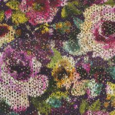 palasini - damson fabric | Designers Guild