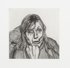 Lucian Freud 'Head of a Woman', 1996 © The Lucian Freud Archive / Bridgeman Images