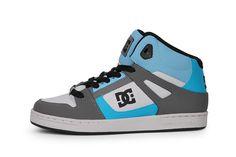 Musthave DC Rebound Hi (Grijs) Sneakers van het merk DC voor Heren. Uitgevoerd in Grijs gemaakt van Leer. Nu verkrijgbaar voor 0.00 bij Sneakershop.