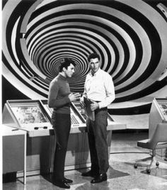 James Darren & Robert Colbert in The Time Tunnel (1966-67). I loved this show.